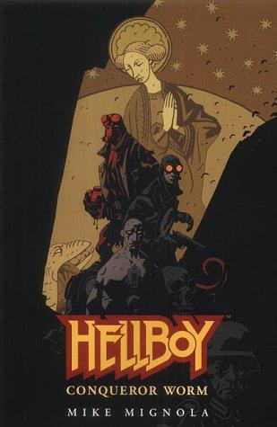 book cover of Conqueror Worm