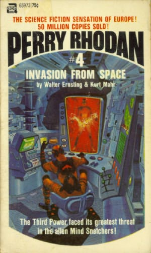 book cover of Invasion from Space