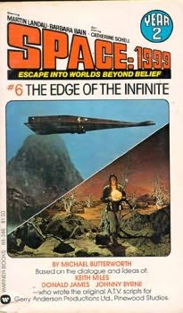 book cover of The Edge of the Infinite