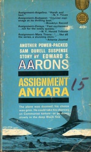 book cover of Assignment Ankara