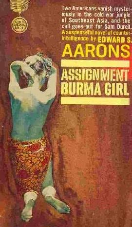 book cover of Assignment Burma Girl