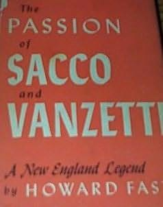 book cover of The Passion of Sacco and Vanzetti
