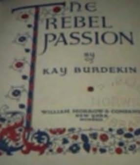 book cover of The Rebel Passion