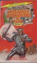 book cover of Challenge of the Wolf Knight