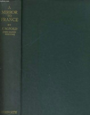 book cover of A Mirror to France