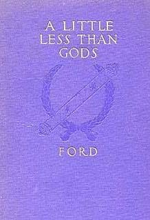 book cover of A Little Less Than Gods