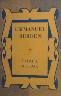 book cover of Emmanuel Burden
