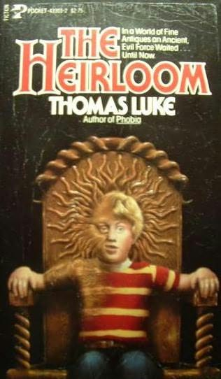 book cover of The Heirloom