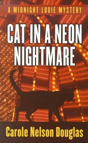 book cover of Cat in a Neon Nightmare