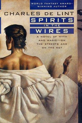 book cover of Spirits in the Wires