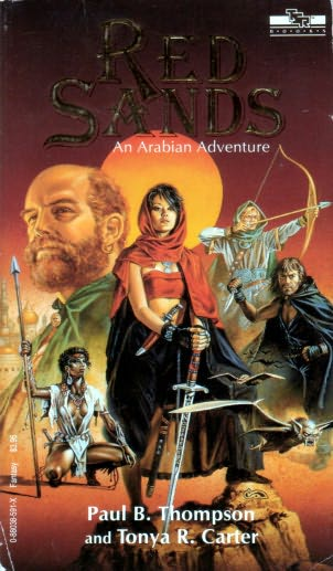 book cover of Red Sands