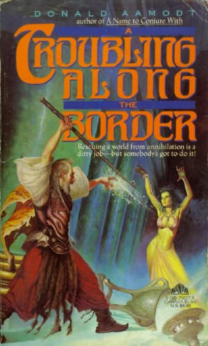 book cover of A Troubling Along the Border