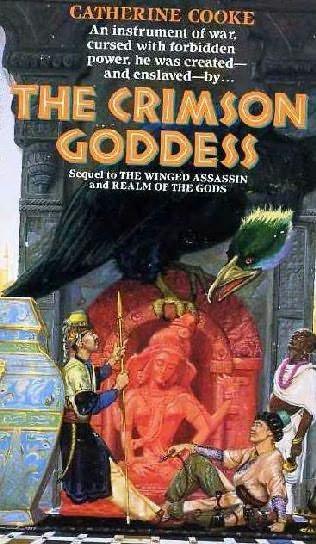 book cover of The Crimson Goddess