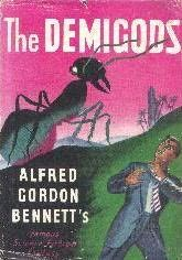 book cover of The Demigods