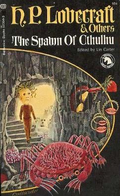 book cover of The Spawn of Cthulhu