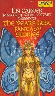 book cover of The Year\'s Best Fantasy Stories