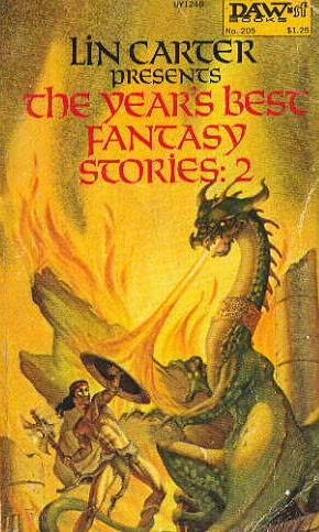 book cover of The Year\'s Best Fantasy Stories 2