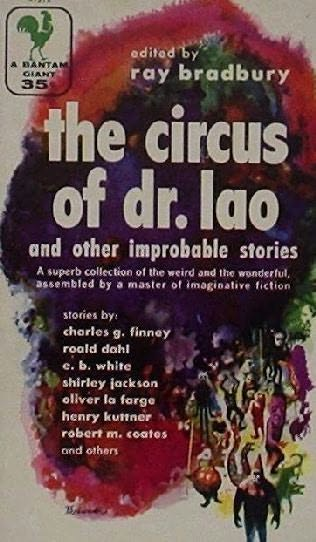 book cover of Circus of Dr. Lao and Other Improbable Stories
