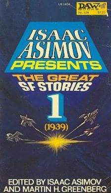 book cover of The Great SF Stories One