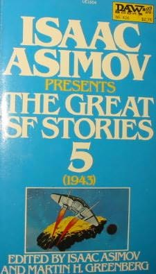 book cover of The Great SF Stories 5