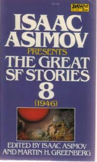 book cover of The Great SF Stories 8
