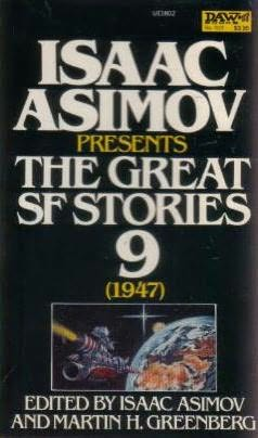book cover of The Great SF Stories 9