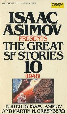 book cover of The Great SF Stories 10