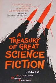 book cover of A Treasury of Great Science Fiction, Volume 1