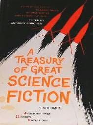 book cover of A Treasury of Great Science Fiction, Volume 2
