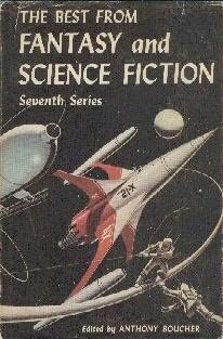 book cover of The Best from Fantasy and Science Fiction 7th Series