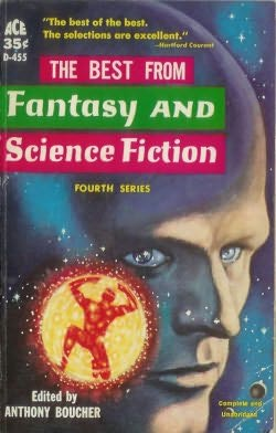 book cover of The Best from Fantasy and Science Fiction 4th Series