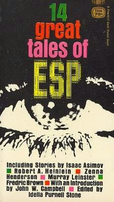 book cover of 14 Great Tales of ESP