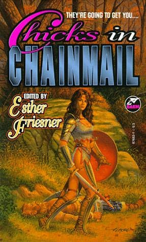 book cover of Chicks in Chainmail
