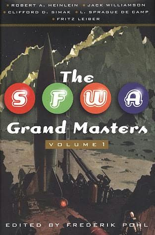 book cover of The SFWA Grand Masters