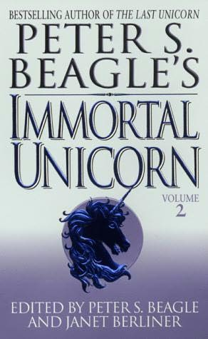 book cover of Peter S Beagle\'s Immortal Unicorn 2