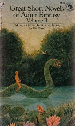 book cover of Great Short Novels of Adult Fantasy Volume 2