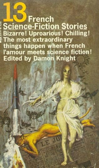 book cover of 13 French Science Fiction Stories