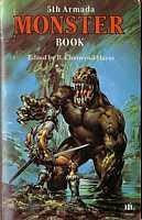 book cover of The 5th Armada Monster Book