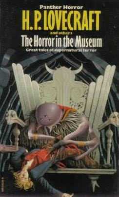 book cover of The Horror in the Museum