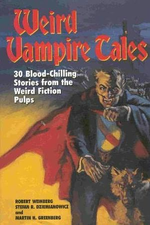 book cover of Weird Vampire Tales