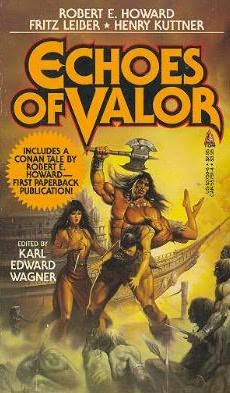 book cover of Echoes of Valor