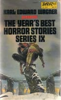 book cover of The Year\'s Best Horror Stories IX