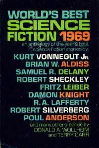 book cover of World\'s Best Science Fiction 1969