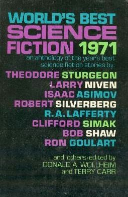 book cover of World\'s Best Science Fiction 1971