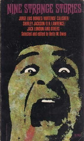 book cover of Nine Strange Stories