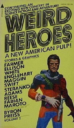 book cover of Weird Heroes 2