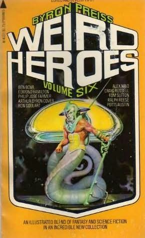 book cover of Weird Heroes 6