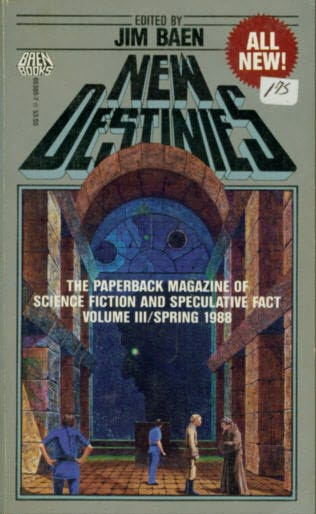 book cover of New Destinies, Vol. III