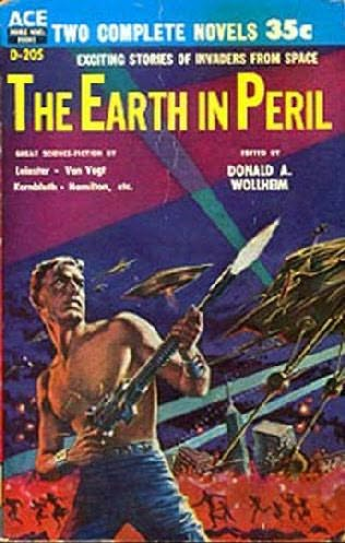 book cover of The Earth in Peril