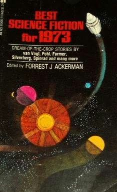 book cover of Best Science Fiction for 1973